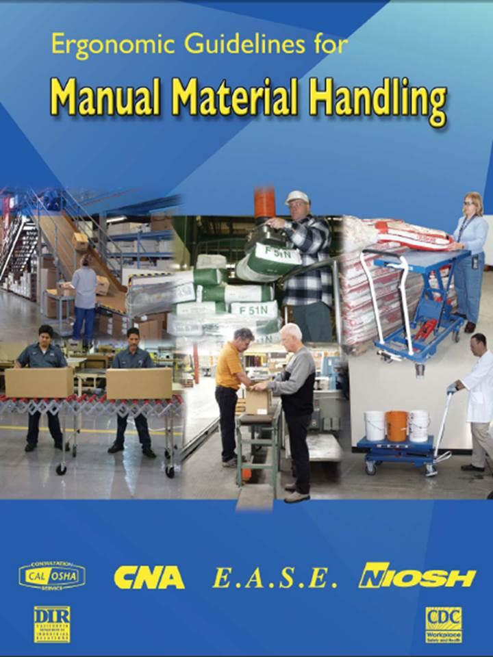 Ergonomics And Material Handling Thumb on Manual Handling And Lifting