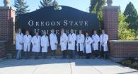 employees wearing lab coats